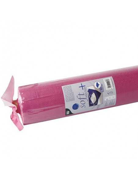 Mantel Aspecto Tela Tejido sin Tejer Soft Selection Plus Rosa Fucsia 25 x 1,18 m