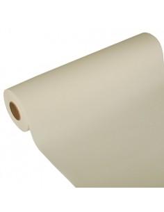Camino de mesa papel aspecto tela Royal Collection champan 24 m x 40 cm