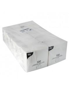 1200 Servilletas de Papel Blancas Económicas 33x33cm