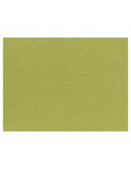 100 Mantelitos Individuales Papel Color Verde Oliva 30 x 40cm