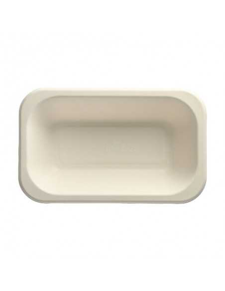 Bandejas compostables termosellables caña azúcar 950ml Pure
