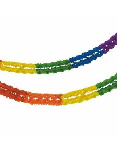 Guirnalda Papel Rainbow Ø 16 cm x 10...