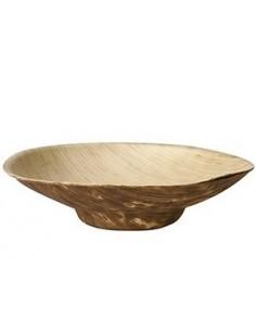Boles madera de bambú natural fingerfood Pure 50ml