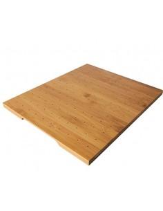 Tabla madera bambú servicio pinchos tapas 25 x 30 cm