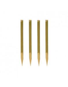 Pinchos de madera de bambú con corteza Nature de 11cm