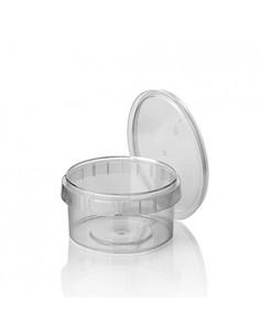 Envases tapa hermética de seguridad plástico PP transparente 480 ml