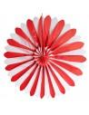 Rueda Abanico Ø 120cm Rojo/Blanco Difícilmente Inflamable