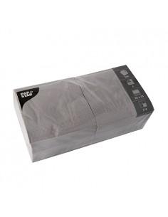 Servilletas de papel color gris 33 x 33 cm 3 capas