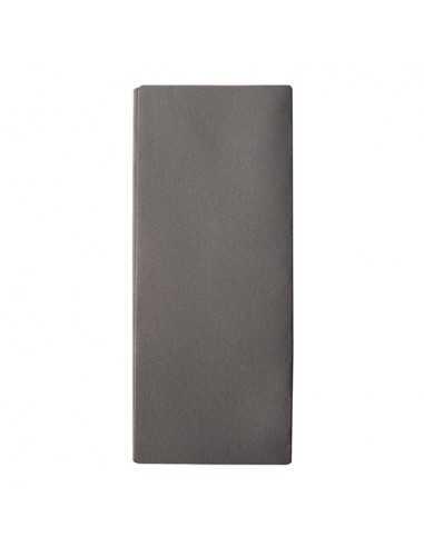 Servilletas papel funda cubiertos airlaid color gris antracita