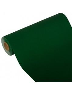 Camino de mesa papel aspecto tela Royal Collection verde oscuro 24 m x 40 cm