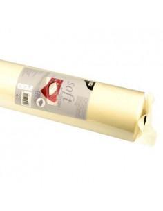 Mantel papel aspecto tela color crema rollo 40 x 1,18 m Soft Selection