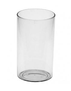 Vasitos tubo plástico transparente fingerfood para tapas 60ml