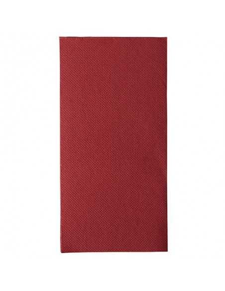 Servilletas de papel burdeos 40 x 40 cm Royal Collection 1/8