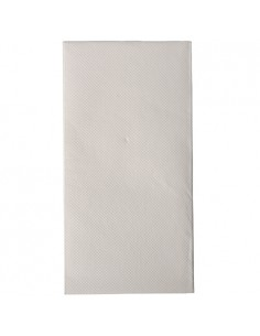 50 Servilletas 40 x 40 cm Pliegue 1/8 cm Color Blanco Royal Collection