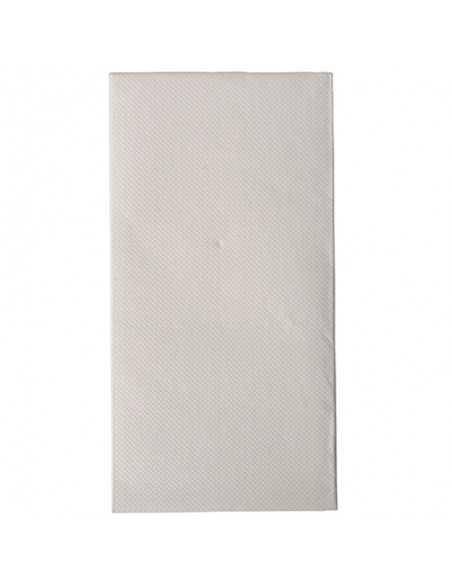 50 Servilletas 40 x 40 cm Pliegue 1/8 cm Color Blanco Royal Collection