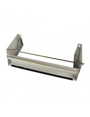 Dispensador rollos papel aluminio y film cocinas 30cm ancho