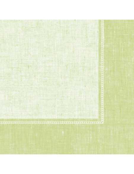 50 Servilletas Decoradas Color Verde Claro Royal Collection 40x40 cm Linum