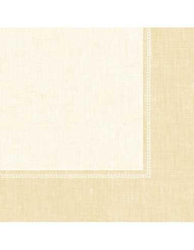 Servilletas papel decoradas Royal Collection Linum Champan 40 x 40 cm
