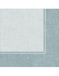 50 Servilletas Decoradas Color Azul Royal Collection 40x40 cm Linum