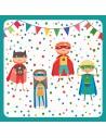 Servilletas papel infantiles super héroe 33 x 33cm