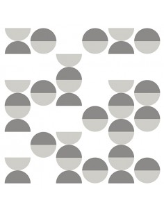 Servilletas de papel decoradas gris blanco 33 x 33 cm