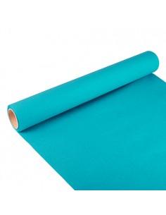 Camino de mesa azul turquesa Royal Collection 3 m x 40 cm
