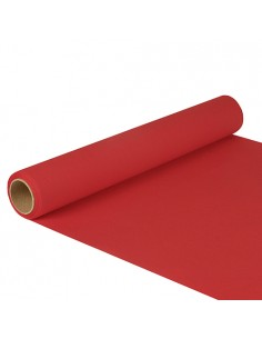 Camino de mesa papel color rojo 5 m x 40 cm Royal Collection
