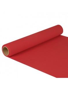 Camino de mesa papel color rojo 5 m x 40 cm Royal Collection