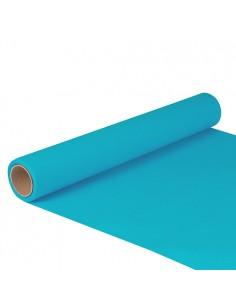 Camino de mesa Color Turquesa Royal Collection 5 m x 40cm