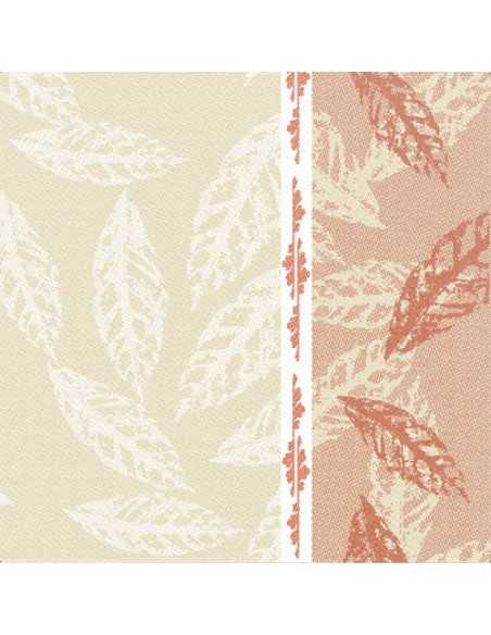 Servilletas de papel decoradas Royal Collection 40 x 40 cm rojo Autumn