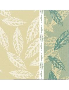 50 Servilletas Decoradas Royal Collection 40 x 40 cm Verde Autumn