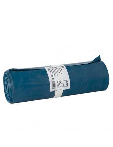 40 Bolsas de Basura LDPE Reciclado Color Azul 110 x 70 cm