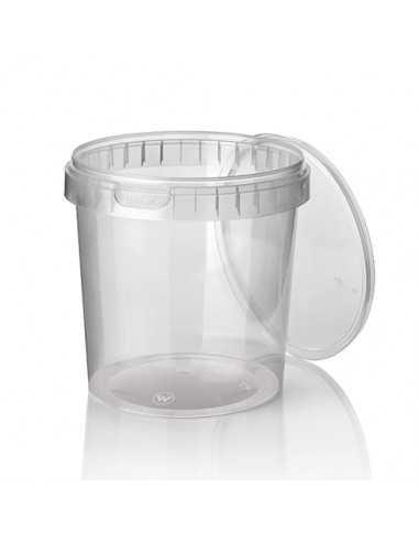 Envases tapa hermética de seguridad plástico PP transparente 770 ml