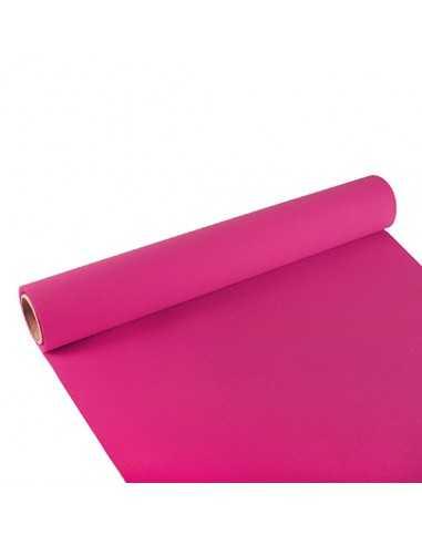 Camino mesa papel rosa fucsia Royal Collection 3m x 40cm