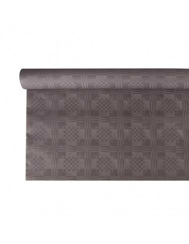 Rollo mantel papel color gris gofrado damasco 6 x 1,2m