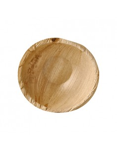 Boles hoja de palma redondos compostables 425 ml Ø 15 cm Pure