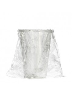 50 Gobelets pour boissons froides en P.L.A. Pure 0,2 l Ø 7,03 x 9,7 cm transparent emballage individuel