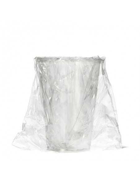 Vasos higiénicos envueltos transparentes PLA 200 ml Pure