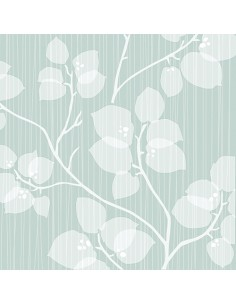 Servilletas de papel decoradas flores verde claro 33 x 33 cm
