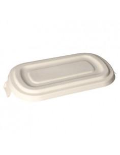 Tapas envase caña azúcar compostable Pure 750ml