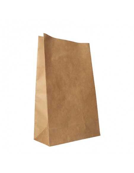 Bolsas papel kraft marrón sin asas 36 x 22 x 11cm