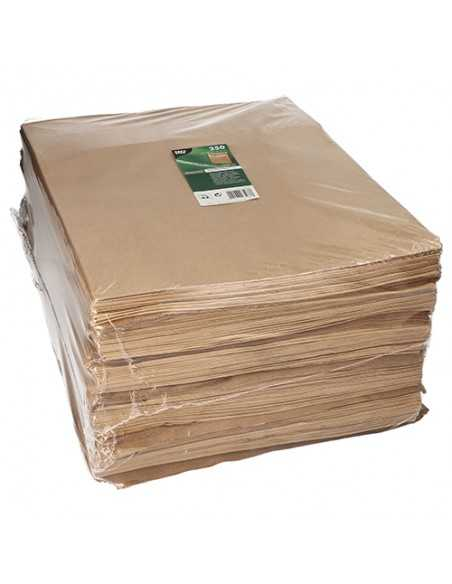 Bolsas papel kraft marrón sin asa 40 x 32 x 11cm