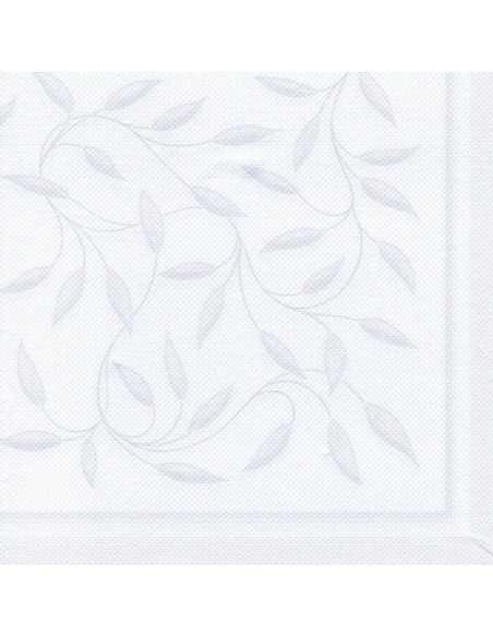 20 Servilletas 40 x 40 cm Decoradas Color Blanco RoyalCollection New Mediterran
