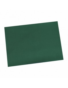 Mantelitos individuales papel verde oscuro económicos 30 x 40 cm