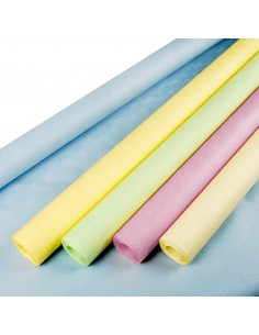 Rollos mantel papel surtido color pastel gofrado damasco 8 x 1m