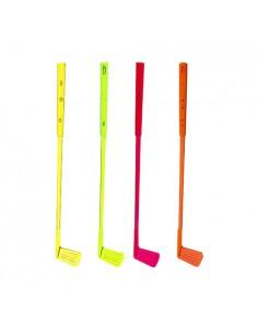 Batidores para cóctel plástico colores 16 cm golf