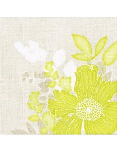 Servilletas de papel aspecto tela decoradas estampado floral 40 x 40 cm Royal Collection
