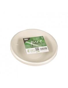 Boles caña de azúcar redondos color blanco 680 ml