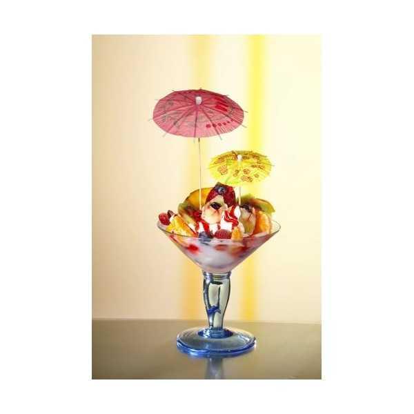 Sombrillas para helado colores surtidos 10cm