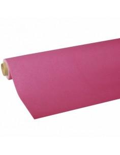 Rollo mantel de papel rosa fucsia Royal Collection 5 x 1,18 m